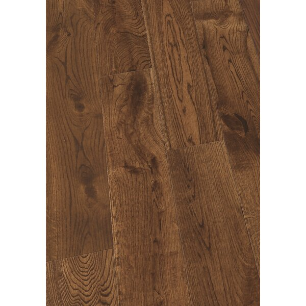 5 Solid Oak Hardwood Flooring in Brushed Ink by Maritime Hardwood Floors