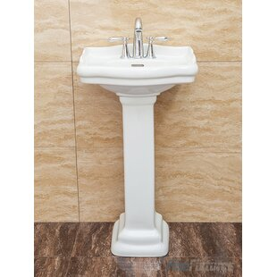 Pedestal Sinks You'll | Wayfair.ca on bathrooms with hardwood floors, bathrooms with storage cabinets, bathrooms with wainscoting, bathrooms with track lighting, bathrooms with copper sinks, bathrooms with kitchen cabinets, bathrooms with molding, bathrooms with corner sinks, bathrooms with vessel sinks, bathrooms with bowl sinks, bathrooms with windows, bathrooms with kitchen faucets, bathrooms with formica countertops, bathrooms with beadboard, bathrooms with wall mounted sinks, bathrooms with whirlpools, bathrooms with bathtubs, bathrooms with double sinks, bathrooms with square sinks, bathrooms with cabinet sinks,