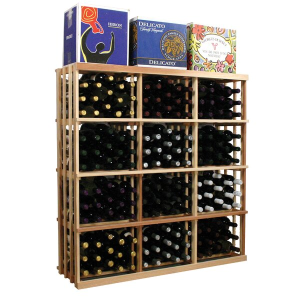 Florian 180 Bottle Floor Wine Bottle Rack by Symple Stuff Symple Stuff