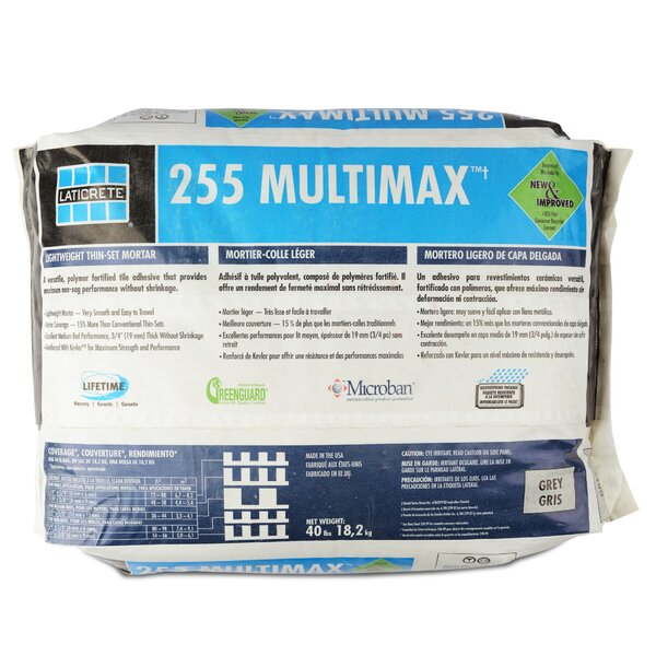 Multimax Multipurpose Mortar 40 Lb by Laticrete