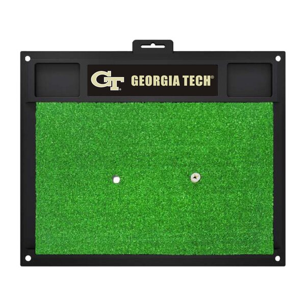 NCAA Georgia Tech Golf Hitting Mat by FANMATS