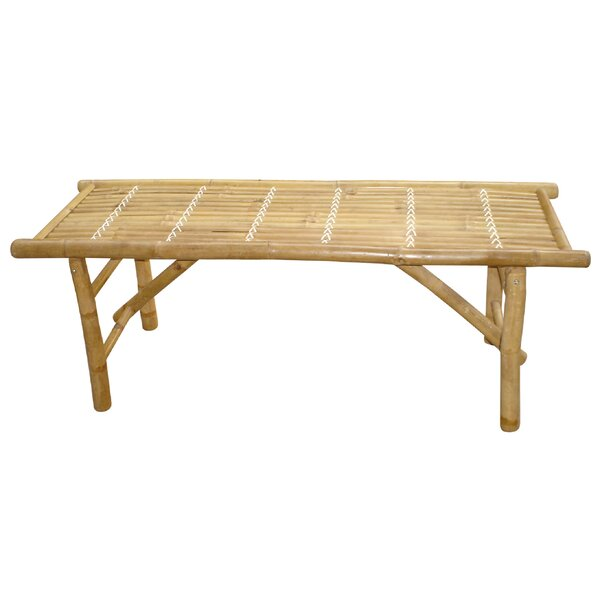 Mcdaniel Wooden Picnic Bench by Bay Isle Home