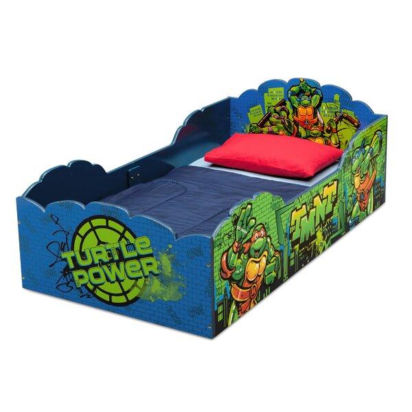 Teenage Mutant Ninja Turtles Convertible Toddler Bed by Delta Children
