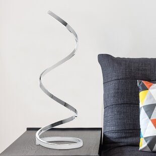Shop For Taquan Modern Spiral LED 31 Table Lamp By Orren Ellis