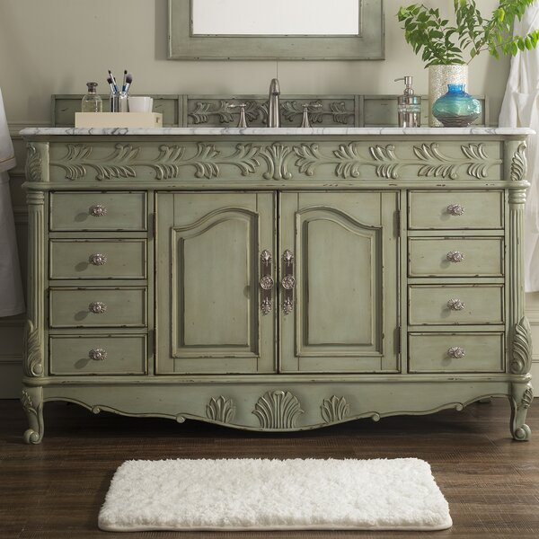 Avildsen Traditional 60 Single Bathroom Vanity Set by Astoria Grand