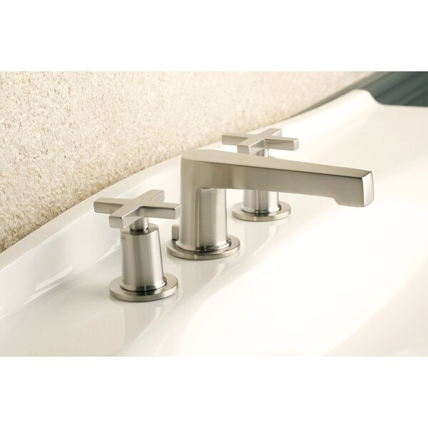 Dorrance Lavatory Widespread Bathroom Faucet with Drain Assembly by Newport Brass Newport Brass