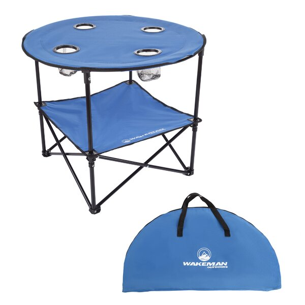 Saffr Walden Folding Camping Table by Freeport Park