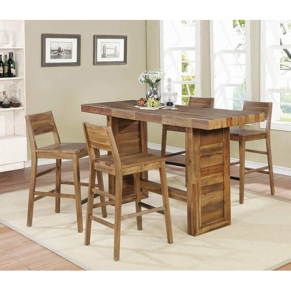 Bolick 5 Piece Pub Table Set by Foundry Select