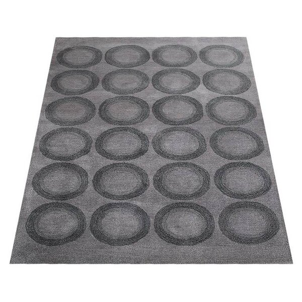 Ry Hand-Tufted Wool Gray Area Rug by Latitude Run