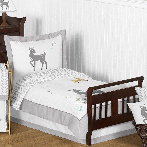 Forest Deer 5 Piece Toddler Bedding Set by Sweet Jojo Designs