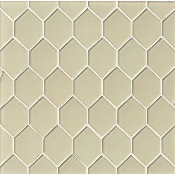 La Palma Glass Mosaic Tile in Sand by Grayson Martin