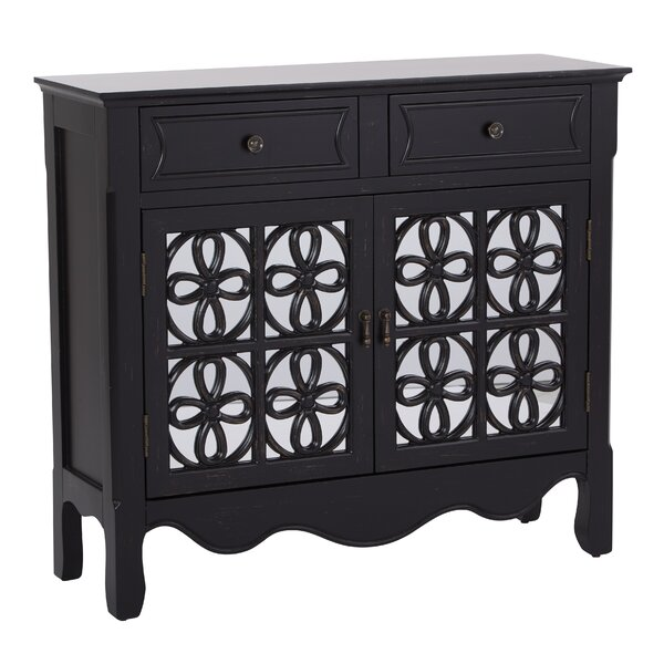 Molly 2 Door 2 Drawer Accent Cabinet by August Grove August Grove