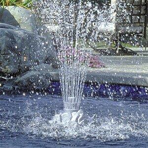 Plastic Rock Fountain