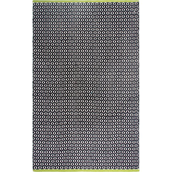 Estate Hand-Woven Black Indoor/Outdoor Area Rug by Fab Habitat