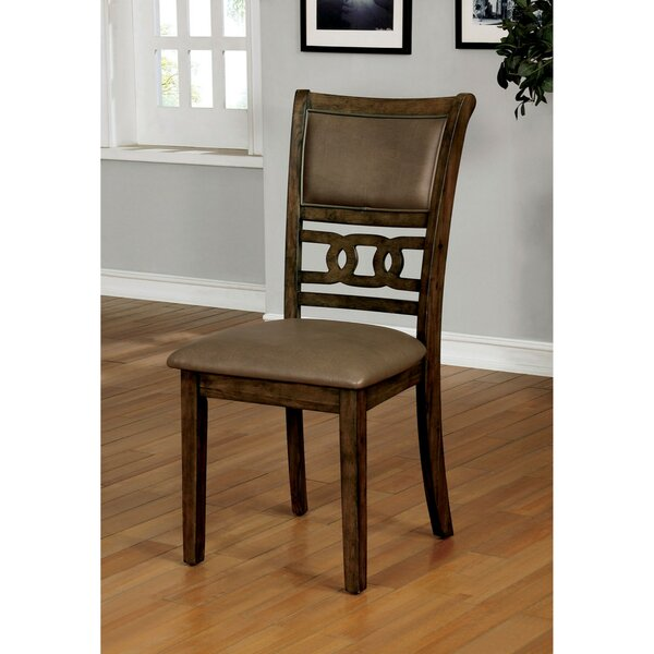 Raleigh Transitional Upholstered Dining Chair (Set Of 2) By Loon Peak