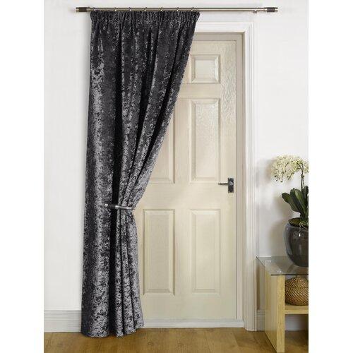 Pimentel Pencil Pleat Room Darkening Thermal Single Curtain Rosdorf Park Colour: Charcoal