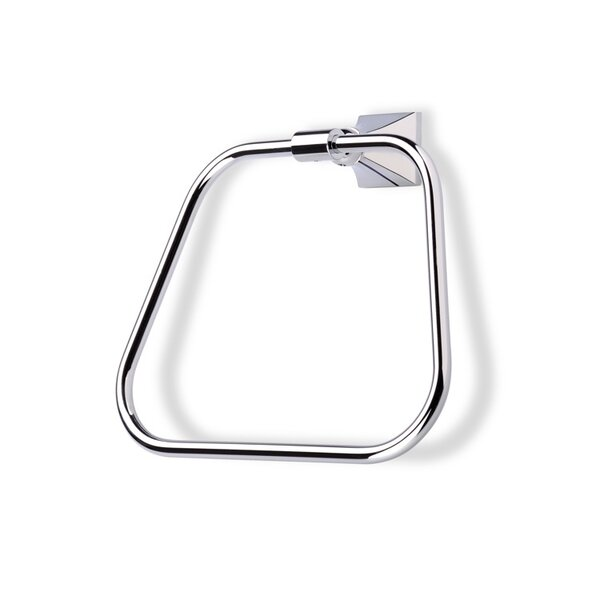 Prisma Wall Mounted Towel Ring by Stilhaus by Nameeks