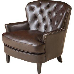 Lengby Diamond Club Chair by Charlton Home