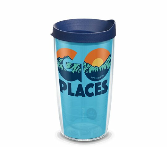 Life is Good® Go Places Plastic Travel Tumbler by Tervis Tumbler