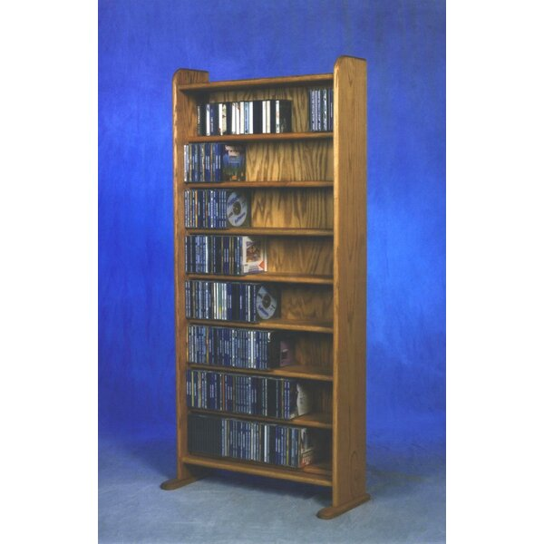 440 CD Multimedia Storage Rack By Rebrilliant