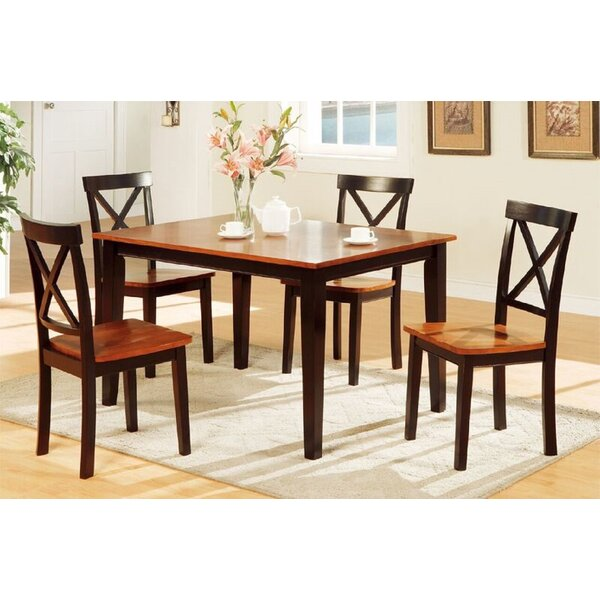 Margery 5 Piece Dining Set by Charlton Home
