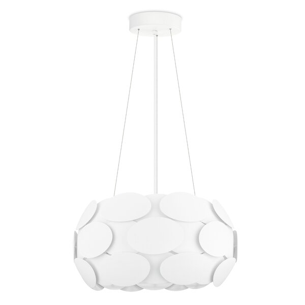 Lindy 3-Light Drum Chandelier by Corrigan Studio