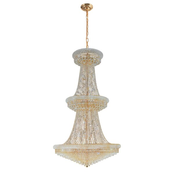Mckie 23 - Light Unique/Statement Empire Chandelier With Crystal Accents By House Of Hampton