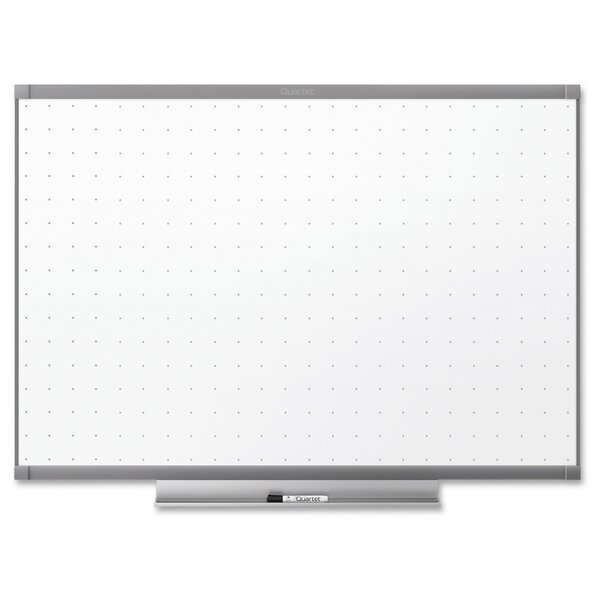 Dry-Erase Wall Mounted Whiteboard by Quartet®