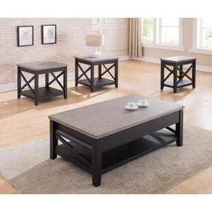 Dolliver Coffee Table Set Gracie Oaks