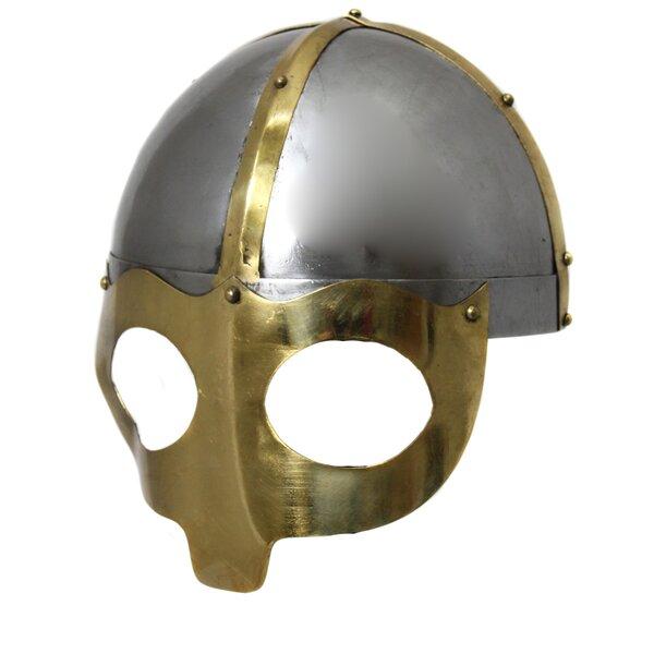 Antique Replica Norse Viking Mask Warrior Battle Armor Helmet by EC World Imports