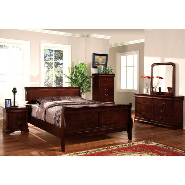 Elsie Sleigh Bed by Darby Home Co