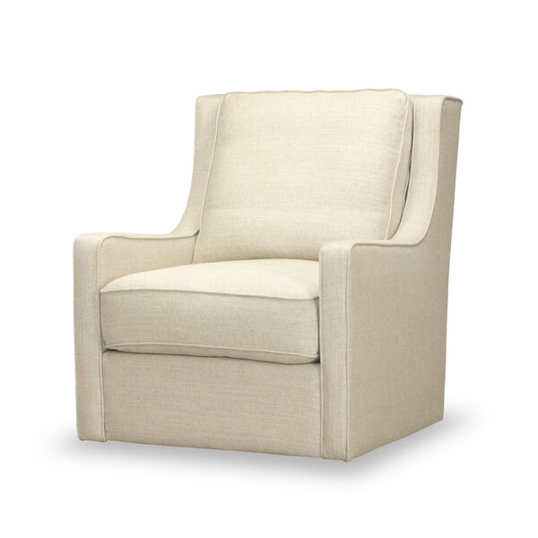 Lyall Swivel Armchair by Rosecliff Heights
