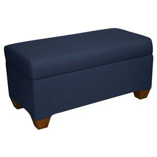 Bernadette Linen Upholstered Storage Bench