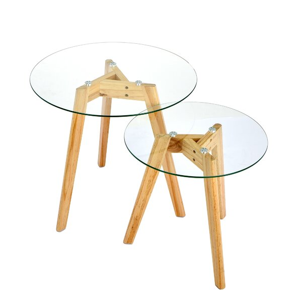 Gehring 2 Piece Nesting Tables by George Oliver