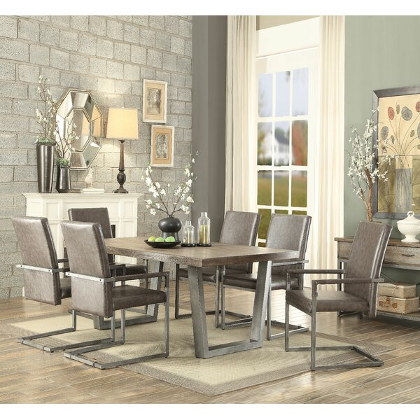 Emeline 7 Piece Dining Set by 17 Stories