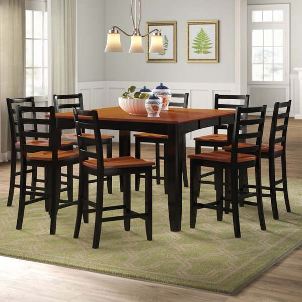 Teressa Solid Wood Dining Set By Alcott Hill