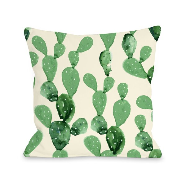 Dovercourt Cacti Columns Outdoor Throw Pillow by Bungalow Rose