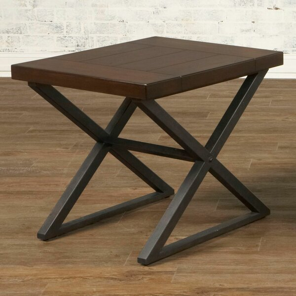 Crossing End Table by Largo