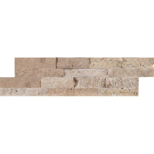 Roman Travertine Mosaic Tile in Beige by MSI