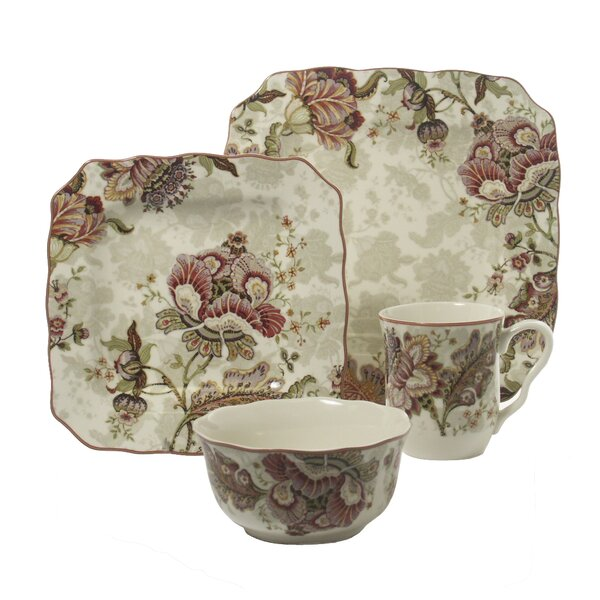 Gabrielle 16 Piece Dinnerware Set by 222 Fifth
