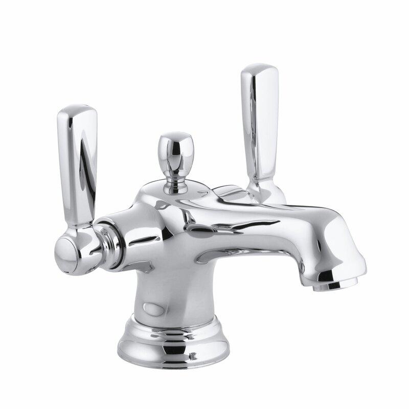 Bathroom Faucet Escutcheon kohler bancroft monoblock single-hole bathroom sink faucet with