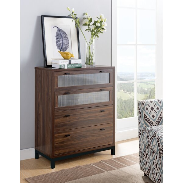 Bludov Utility 4 Drawer Chest By Wrought Studio