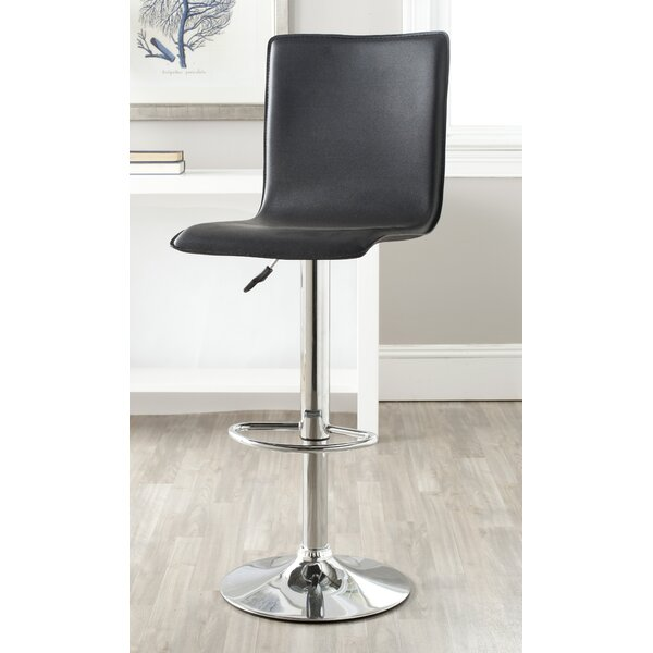 Raylene Adjustable Height Swivel Bar Stool by Orren Ellis