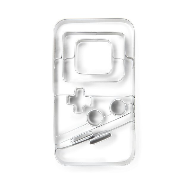 Gameboy Cookie Cutter by Donkey Products