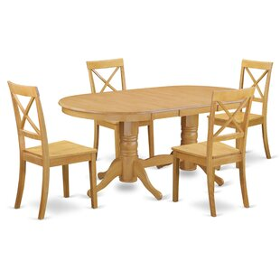 Rockdale 5 Piece Solid Wood Dining Set ByDarby Home Co