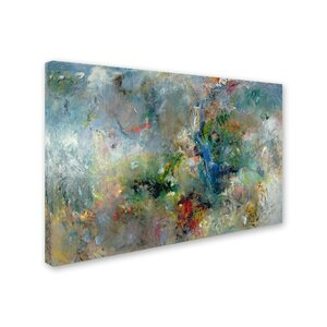 'Valley of the Waterfalls' Print on Wrapped Canvas by Trademark Fine Art