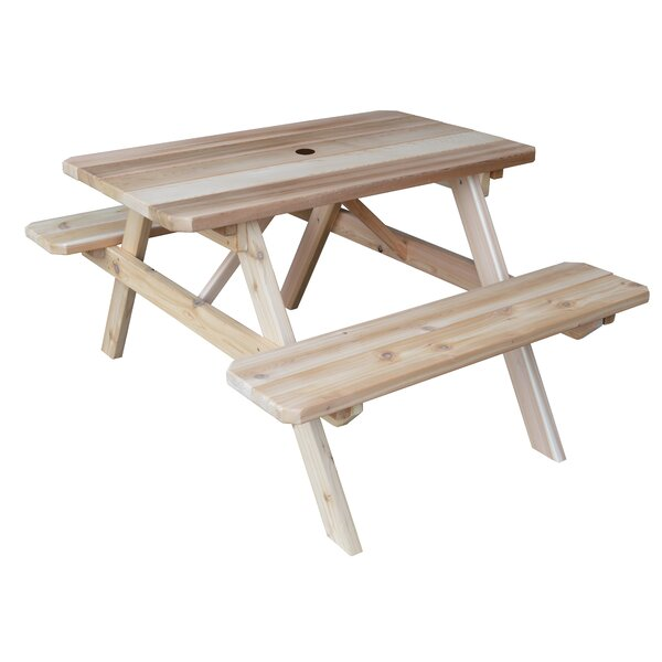Lawler Picnic Table by Longshore Tides