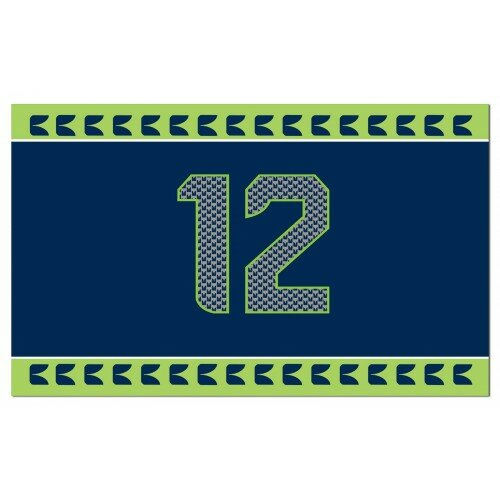 Seattle Seahawks Polyester 2 x 3 ft. Flag by NeoPlex
