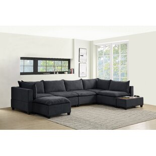 Brás 7 Piece Down Feather Living Room Set by Latitude Run®