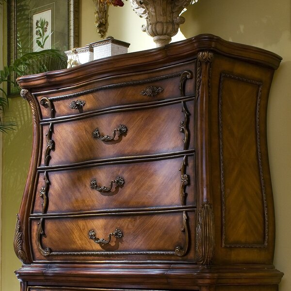 Chateau Beauvais 4 Drawer Chest by Michael Amini
